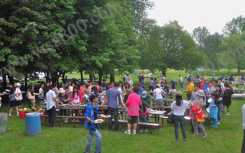 亨瑞集团大型户外烧烤野餐活动报道