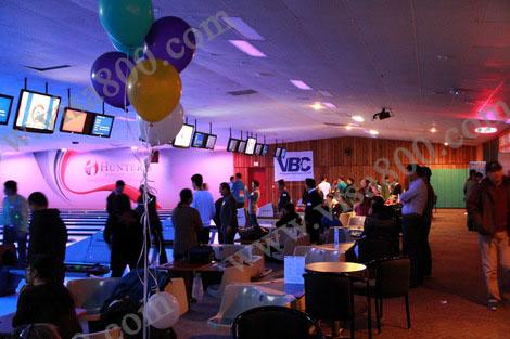 记2013年2月萨屯登陆及考察客户室内保龄球及聚餐活动