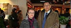 1月19日亨瑞副总裁茹雷先生与安省考察团会谈