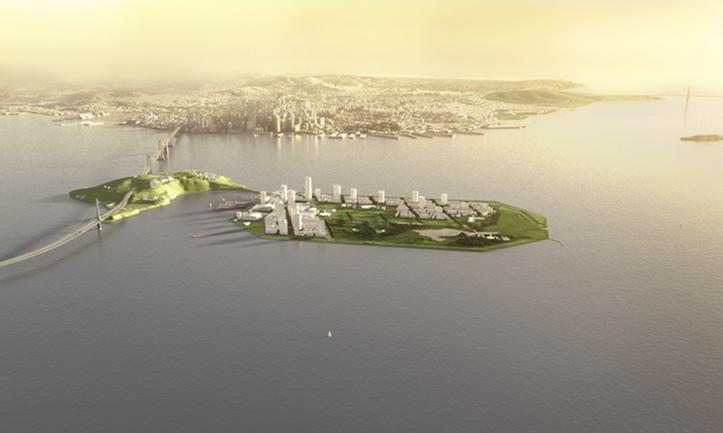 旧金山金银岛地产项目二期